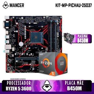 Kit Upgrade, AMD Ryzen 5 3600 + B450M