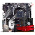 Kit Upgrade, AMD Ryzen 5 5600X, Cooler Corax, A520M, 16GB DDR4, SSD 240GB, 600W
