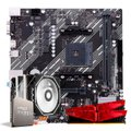 Kit Upgrade, AMD Ryzen 5 5600X, Cooler Corax, A520M, 16GB DDR4