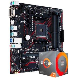 Kit Upgrade AMD Ryzen™ 7 5800X + Asus PRIME B450M GAMING/BR