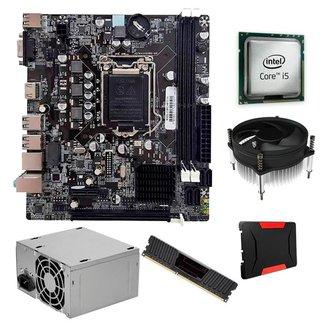 Kit Upgrade, Intel  I5 + Cooler i30, H61, 4GB, SSD 120GB, 200W