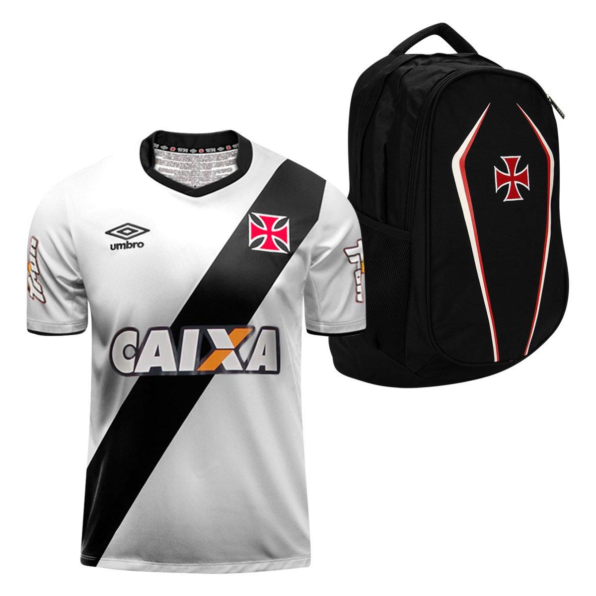 Kit Vasco da Gama - Camisa Umbro II 14 15 + Mochila - Compre Agora ... 9d0db7d3a273b