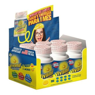 Kit Vivamil Display 6 Frascos Com 30 Comprimidos