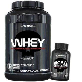 Kit  Whey Protein + Bcaa