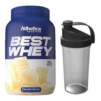 Kit Whey Protein Best Whey 900g + Coqueteleira  Atlhetica Nutrition