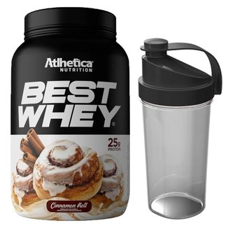 Kit Whey Protein Best Whey 900g + Coqueteleira  Atlhetica Nutrition