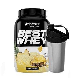 Kit Whey Protein Best Whey 900g + Coqueteleira Sortida - Atlhetica Nutrition