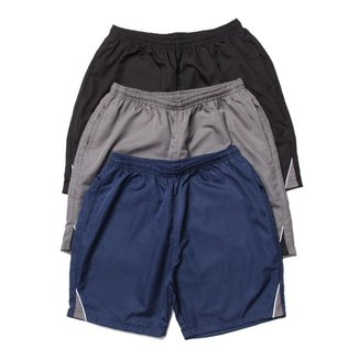 Kit3 Shorts Curto Rip Stop OX com Bolsos Frente e Costa