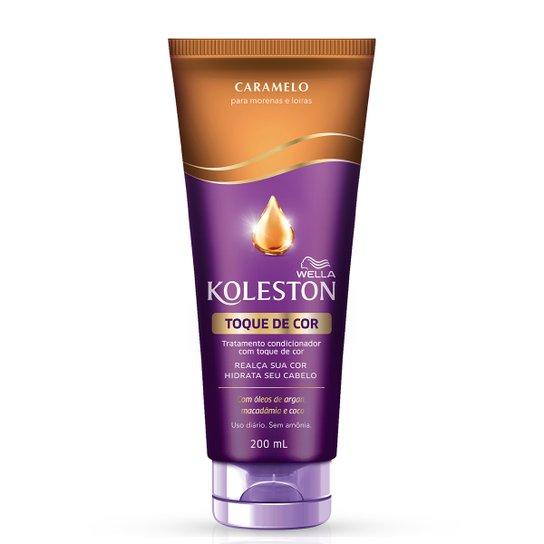 Koleston Toque de Cor Caramelo 200ml - Incolor