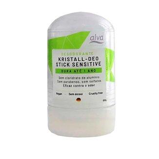 Kristall Deo - Stick Sensitive - Desodorante Natural - Alva - 60g