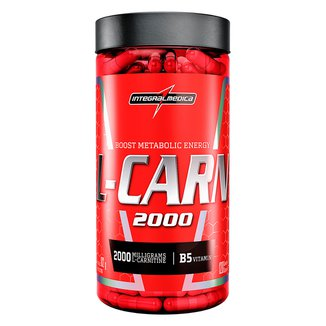 L-Carn 120 Cáps Body Size - IntegralMédica