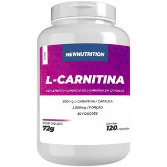 L-carnitina 120 caps NewNutrition