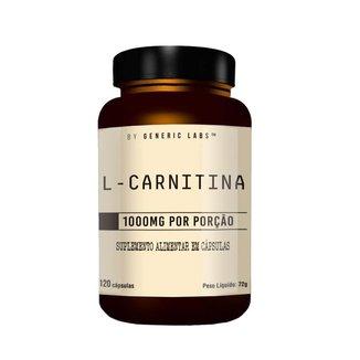 L-Carnitina 120 Cápsulas - Generic Labs
