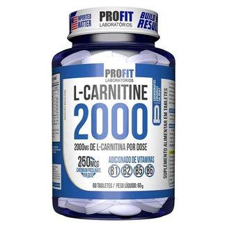L Carnitina 2000 + 250mcg Cromo 60 Tabletes ProFit