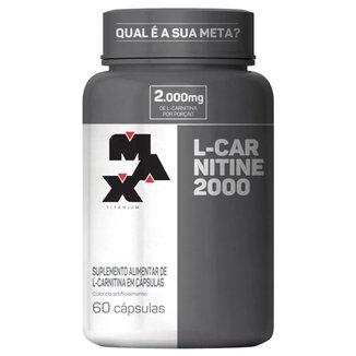 L-Carnitina 2000 - 60 cápsulas - Max Titanium