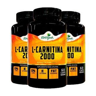 L-Carnitina 2000 Katiguá 180 Cápsulas