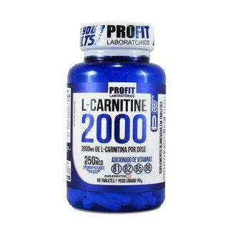 L-Carnitina 2000mg Profit 60 Tablets