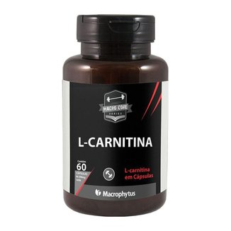 L-carnitina 500mg 60 cápsulas