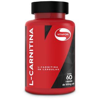 L-Carnitina 60 Cáps - VitaFor