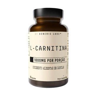 L-Carnitina 60 Cápsulas - Generic Labs