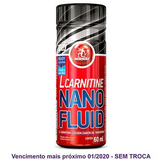 L-Carnitina Nano Fluid Shot 60mL