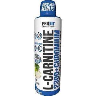 L-Carnitine 2300 c/ Chromium 480ml- L Cartinina- Profit Labs
