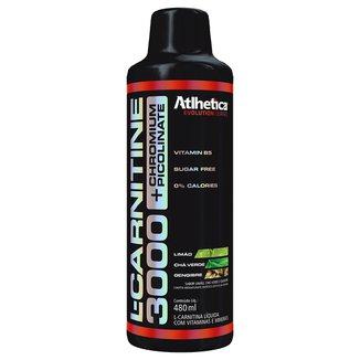 L-Carnitine 3000 + Chromium 480 ml - Atlhetica Nutrition