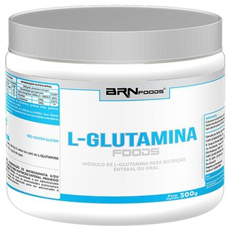 L-Glutamina Foods 300 g - BR Nutrition Foods