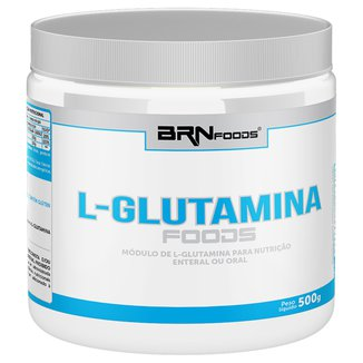 L-Glutamina Foods 500 g - BR Nutrition Foods