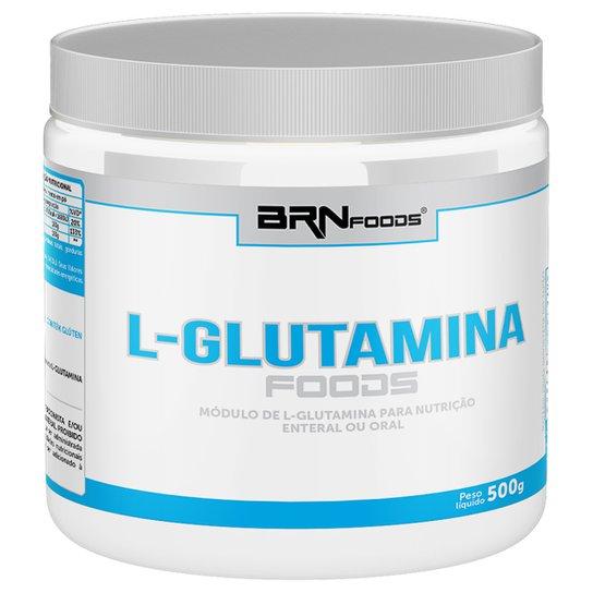 L-Glutamina Foods 500 g - BR Nutrition Foods -