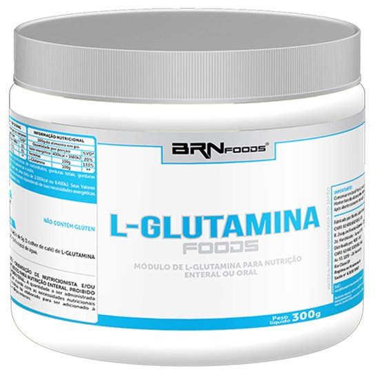 L-Glutamina Foods BRN Foods 300 g -