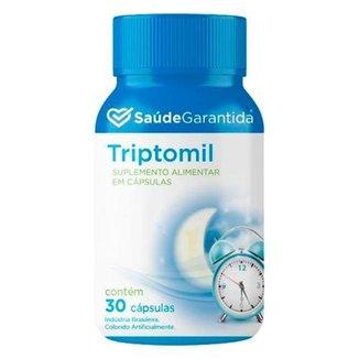 L-Triptofano Triptomil Suplemento Alimentar 30 Capsulas Saúde Garantida