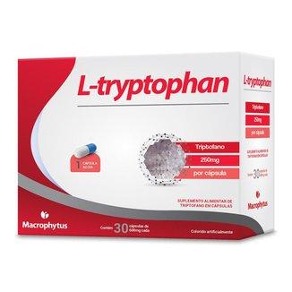 L-tryptophan 600mg 30 cápsulas (triptofano)