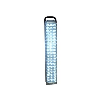 Lampada Luminaria Luz De Emergencia 63 Leds Recarregavel Lanterna Grande 3200Mah Com Alça Para Casa,