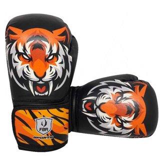 LANÇAMENTO - Luvas Kick Boxe Muay Thai Injetada Tiger Elite - Par