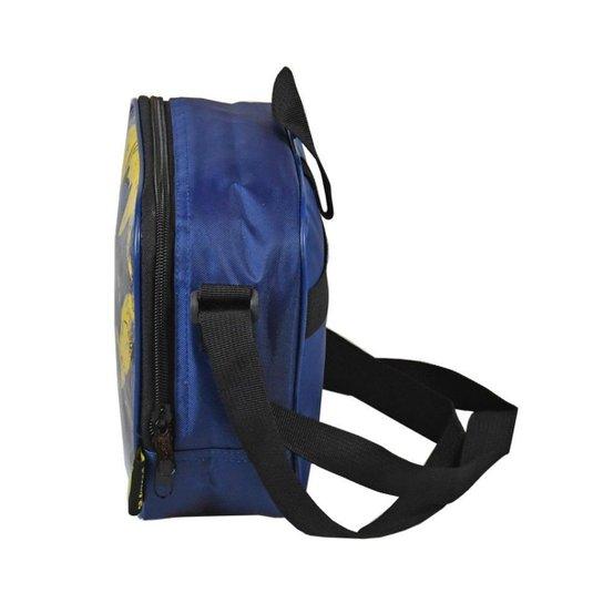 Lancheira Batman Luxcel Amarelo LA35582BM - Azul