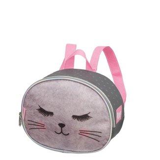 Lancheira Gatinha Meow Premium Infantil Pacific Feminina