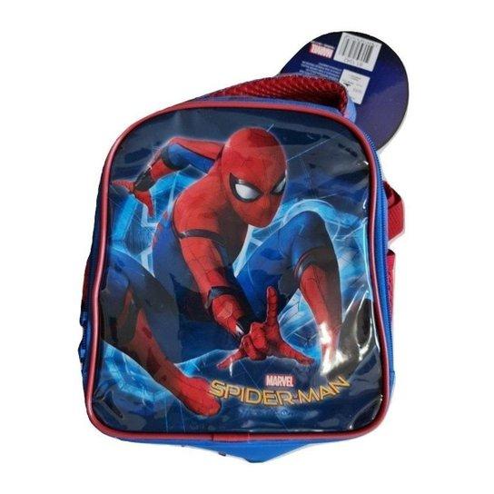 Lancheira Infantil Escolar Homem Aranha Xeryus 81.1042 - Azul