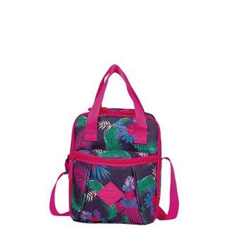 Lancheira Infantil Sestini Pocket Lunch Flamingo