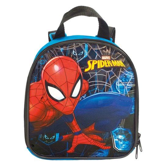 Lancheira Infantil Xeryus Spider Man Haste - Preto