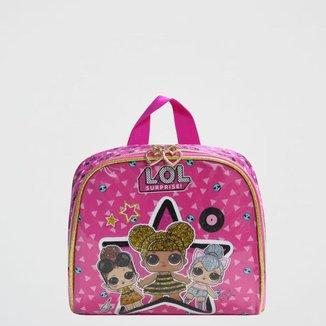 Lancheira LOL Estrela Infantil Luxcel Pink