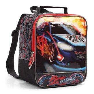 Lancheira Térmica Infantil Menino Racing Carro