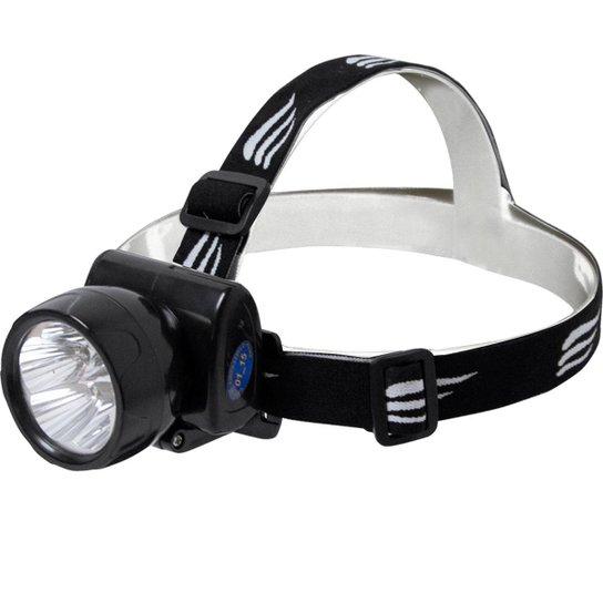 Lanterna de Cabeça Nautika Fenix Recarregável Bivolt - Preto