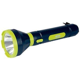Lanterna Mor Power LED Recarregável 5W 250 Lúmens Bivolt