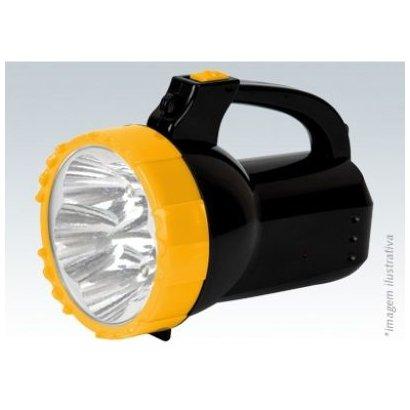 Lanterna Recarregável 15 Leds Bivolt Titanium 8084