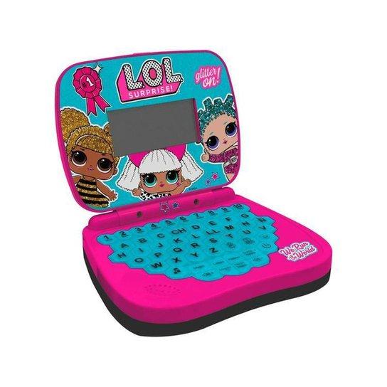 Laptop Infantil LOL Surprise Laptop Divertido - Rosa