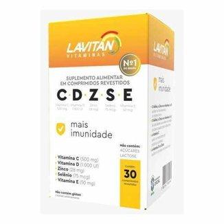 Lavitan CDZSE Mais Imunidade 30 Comprimidos
