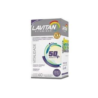 Lavitan Vitalidade 50+ Com 60 Comprimidos