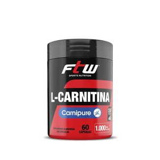 LCarnitina Carnipure  60 Cápsulas  Ftw