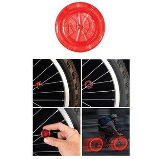 Led Para Sinalização, Próprio Para Aro Da Bicicleta